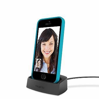 Mophie Desktop Charging Dock Lightning for Iphone 5/5s/6/6s/ Black