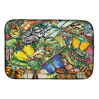 Carolines Schatten PRS4059DDM Insecten en vlinders Bug World Dish Drogen Mat