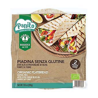 Gluten free Piadina 2 units