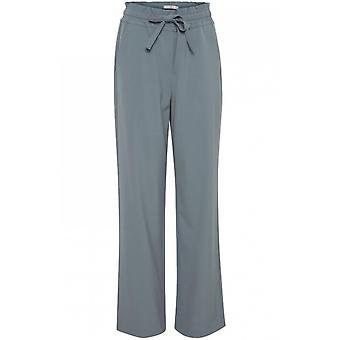 b.young Isole Blue Wide Leg Trousers