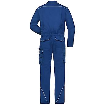 James And Nicholson Unisex Adults Work Overalls