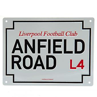Liverpool FC Anfield Road Plaque