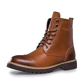Genuine Leather Winter Luxury Non-slip Warm Casual Boot