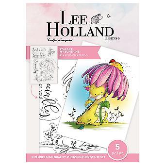 Crafter & apos; s Companion Lee Holland tydliga frimärken Du är mitt solsken