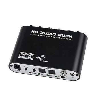Ch Audio Decoder, Spdif Coaxial To Rca, Dts Optical Digital Amplificateur