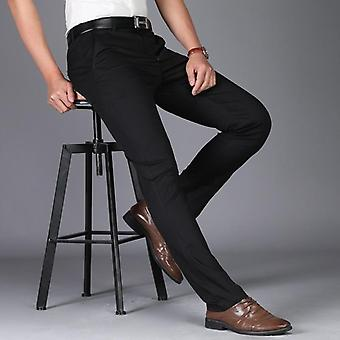 Men Suit Casual Office High-quality Trousers Business Pants