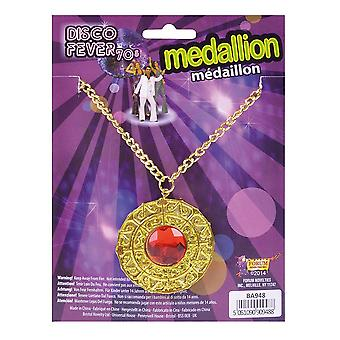Bristol nowość ba948 disco fever medalion, złoto, jeden rozmiar 1