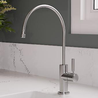 Alfi Brand Ab5008-Bss Solid Brushed Stainless Steel Drinking Water Dispenser Faucet