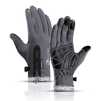 Thermal Fleece, Waterproof Snowboard Gloves
