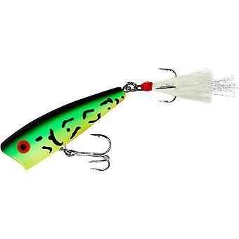 Rebel Magnum Pop-R 1/2 oz fiske Lure - Fire Tiger