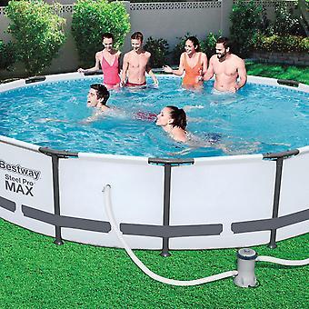 Bestway Flowclear 530gal Filter Pump Swimming Pool, Grey