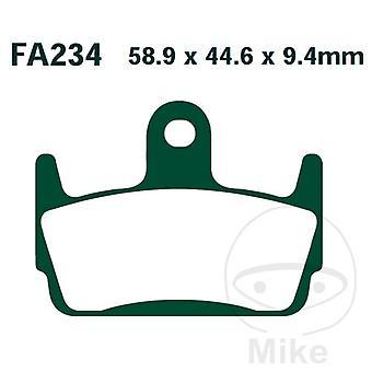 EBC Scooter Organic Brake Pads SFA234