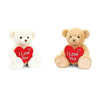 Snuggles Bear With Heart Plush Toy
