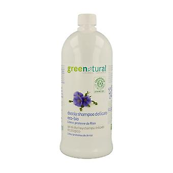 Shower Gel and Shampoo 2 in 1 of Linen and Rice 1 L