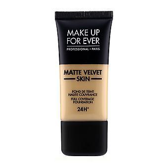 Make Up For Ever Matte Velvet Skin Full Coverage Foundation - # Y365 (Desert) 30ml/1oz