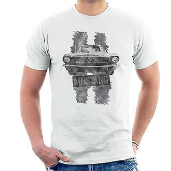 フォード マスタング ストライプ メン&アポ;s T シャツ