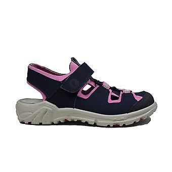 Ricosta Gerald 6522600-173 Navy/Pink Girls Closed Toe Sandals