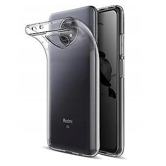 Coque Pour Xiaomi Redmi Note 9t, Housse De Protection En Silicone De Haute Qualité, Transparent