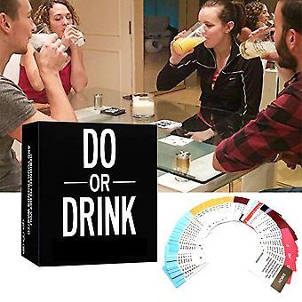 Giochi da tavolo Gioco di carte da bere per feste di compleanno al college e al campeggio ubriaco divertente per i giochi di bevute per feste uomo & donna
