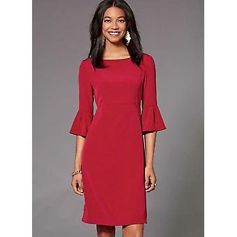 Kwik Sew Sewing Pattern 4215 Misses Dresses Flounce Sleeves Size XS-XL Uncut