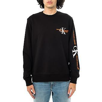 Calvin Klein ck Urban Graphic Logo Crew Neck Sweatshirt homme j30j318307.beh