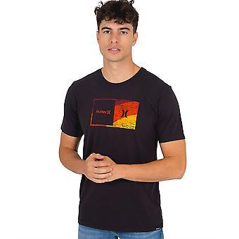 Hurley Men's T-Shirt ~ Everyday Wash Halfer noir