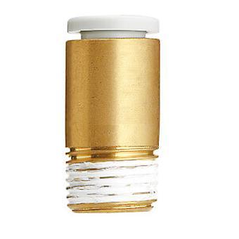 SMC pneumatiska rakt gängade-till-rör Adapter, R 1/2 hane, Push i 12 Mm
