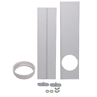 AC Vent Kit for Glass Doors and Windows Seal Plat Kit Max Length 128cm