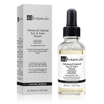 Pomegranate noir advanced eye & face serum for men