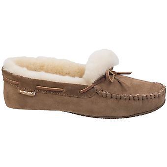 Cotswold Mens Chastleton zalea mocasín de cuero suave zapatillas