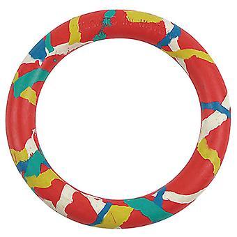 Arquivet punainen kumirengas 14 Cm (koirat, lelut & Sport, frisbeet & enemmän)