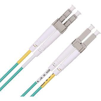 """FengChun 30m Glasfaser LWL Patchkabel OM3, LC zu LC Multimode Duplex 50/125"""" Glasfaserkabel für 1G"""