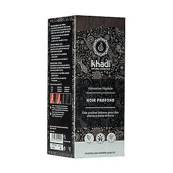Black vegetable dye 100 g (Black)