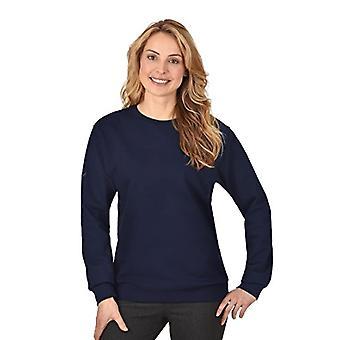 Trigema 579501, Women's Sweatshirt, Blue (Navy C2C 546), 54 (Talla manufacturer: XL)