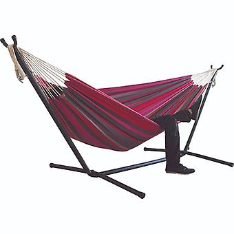 Double Camping Hanging Swing Lazy Chair Canvas Hammocks & Rocking Chair