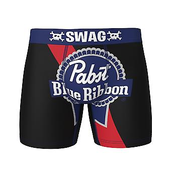 Pabst Blue Ribbon Label Swag Boxer Briefs