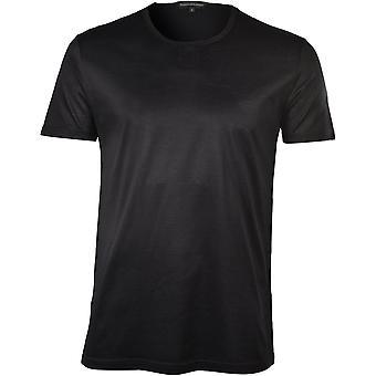 Ermenegildo Zegna Filoscozia Luxe Crew-Neck T-Shirt, Svart