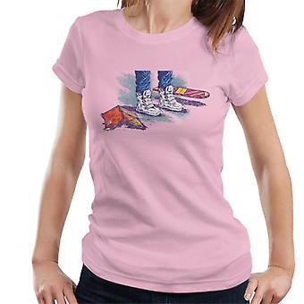 Terug naar de Toekomst Marty Shoes Board En Comic Women's T-Shirt