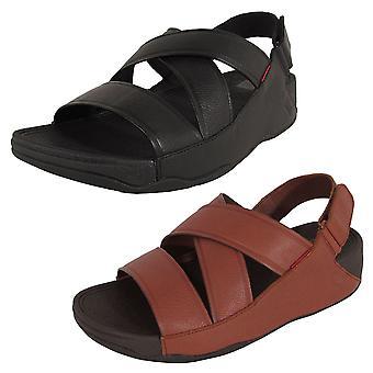 FitFlop Herre Chi Slingback Læder Sandal Sko