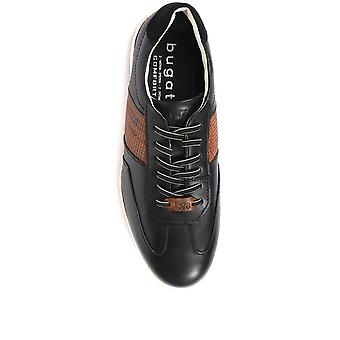Bugatti Mens Lace-Up Leather Trainers