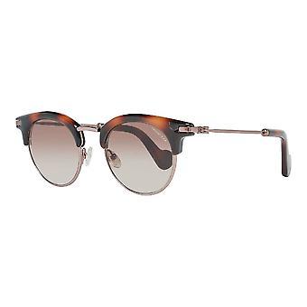 Unisex Sunglasses Moncler ML0035-52F Brown (ø 47 mm)