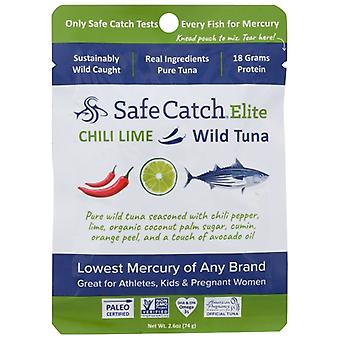 Safecatch Tonijn Wild Elite Chili Lim, Koffer van 12 X 2.6 Oz