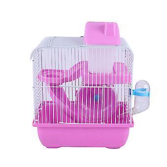 2 Tier Kleine Huisdier Hamster Kooi Gerbil Muis Degus Rat Castle Home House Fun Play