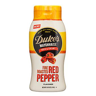 Duke's Mayonnaise Fire Roasted Red Pepper Flavored Mayo