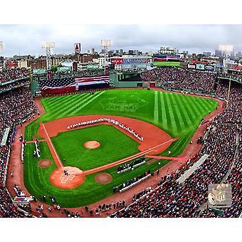 Fenway Park durante un retiro honorario de David Ortiz de los Boston Red Sox en su temporada regular final juego 2 de octubre de 2016 foto impresión