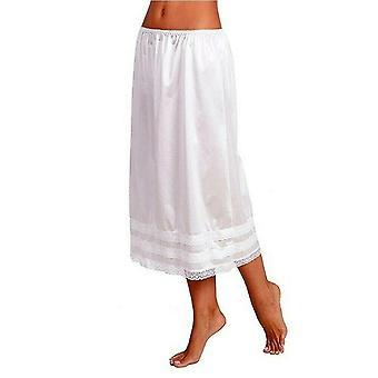kvinners blonder petticoat, under kjole lang skjørt