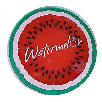 Transparent Fruit Cooling Pad, Round Gel Ice Pad, Multifunctional Cooling Pad(Red)