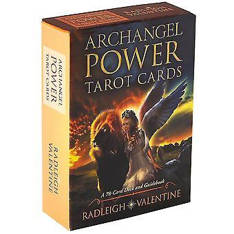 Rider Tarot Cards Ærkeengel Power engelsk version for begyndere Kortspil (Archangel Power)