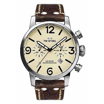 TW Stål MS23 Maverick kronograf klokke 45 mm
