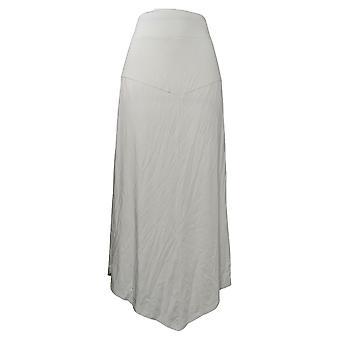Modern Soul Women's Skirt Reg Maxi Solid Gray 690094